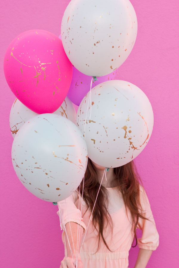 Gold-Splattered-Balloons