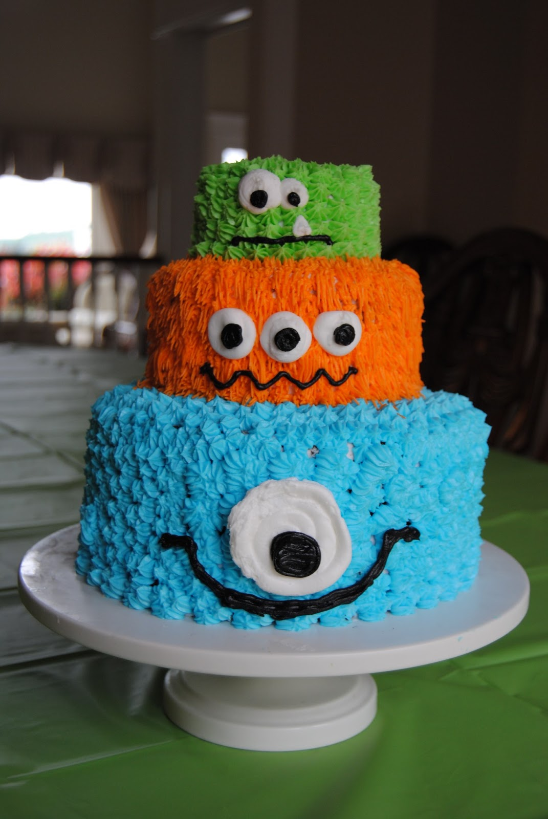 Monsters cake