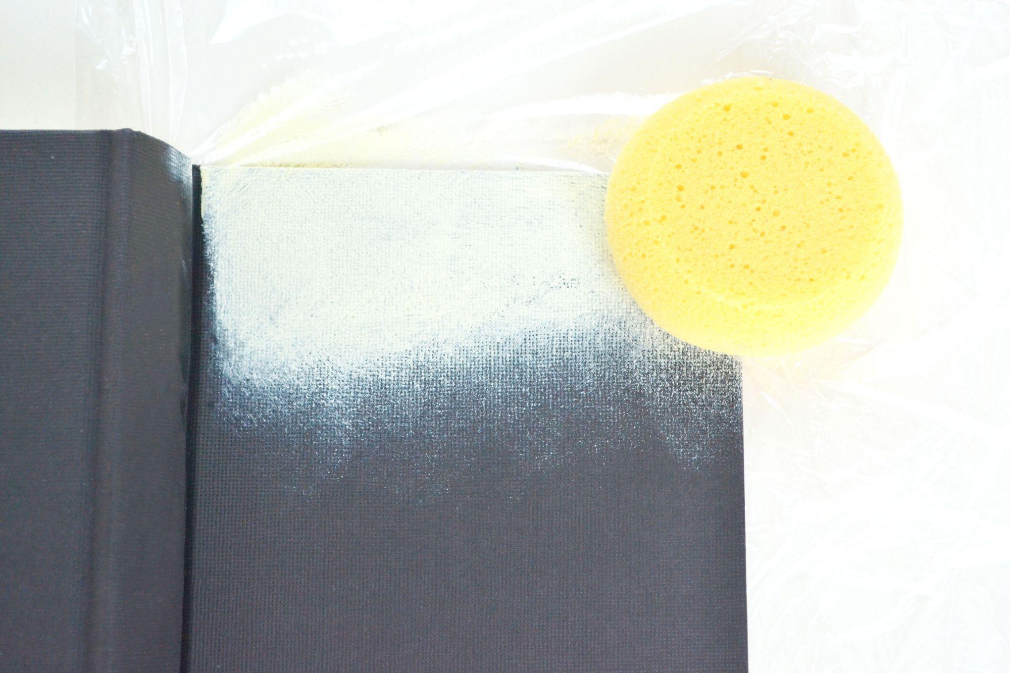 Ombre Painted Journals Sponge