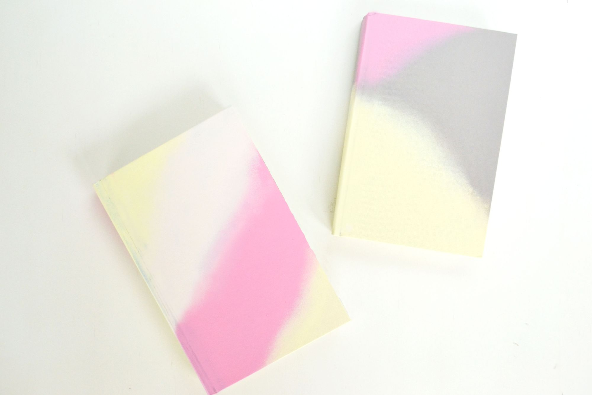 Ombre Painted Journals