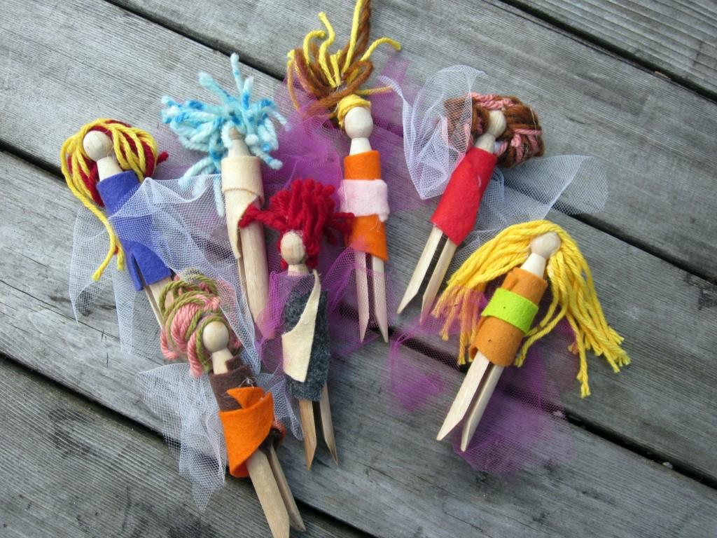 Princess-Clothespins