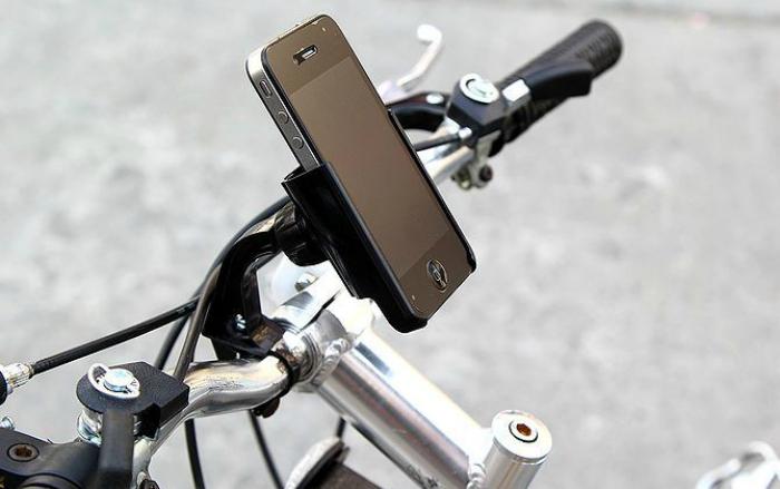 Simple smartphone holder