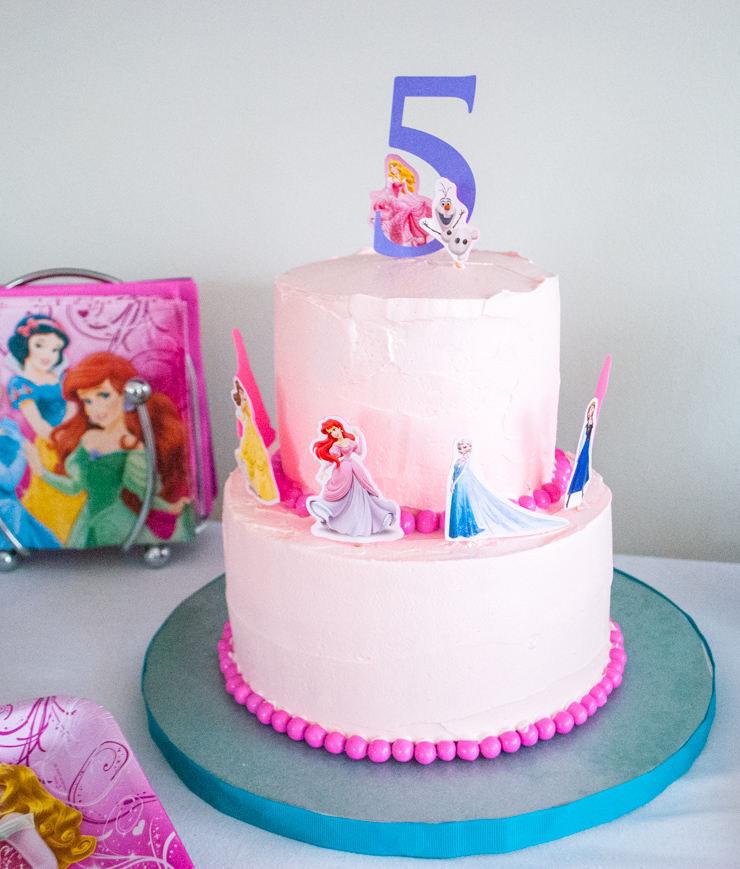 disney-princess-birthday-cake