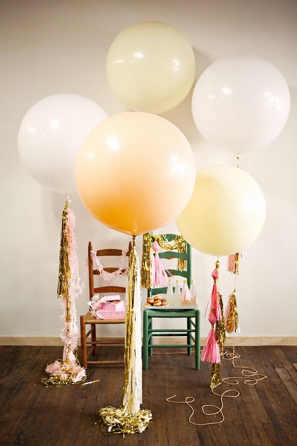 Geronimo style big round balloons