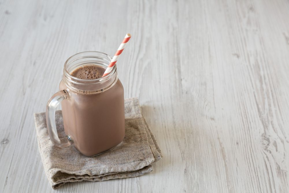 How to freeze chocolate milk