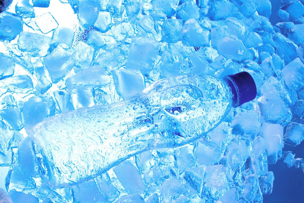 Water bottles freezer safe