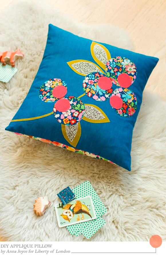DIY Applique Pillow