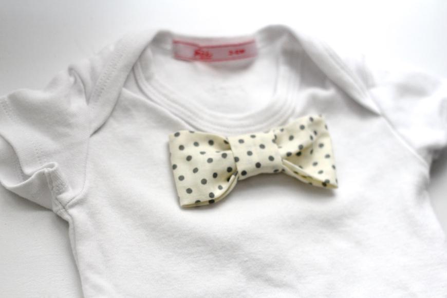 DIY Baby Bow Tie