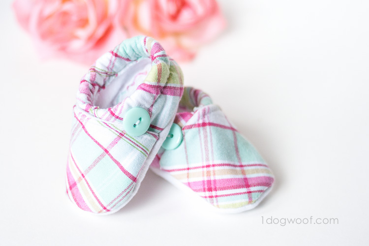 DIY Baby Cloth Shoes