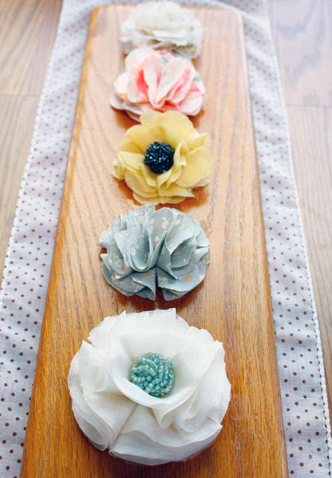 DIY Baby Flowers