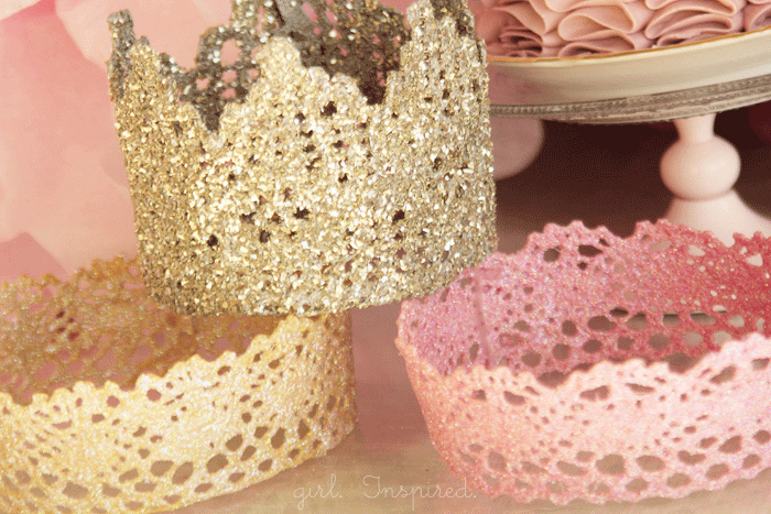 DIY Baby Lace Crown