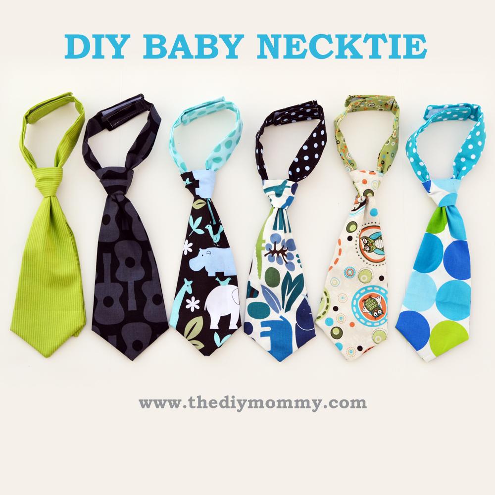 DIY Baby Necktie