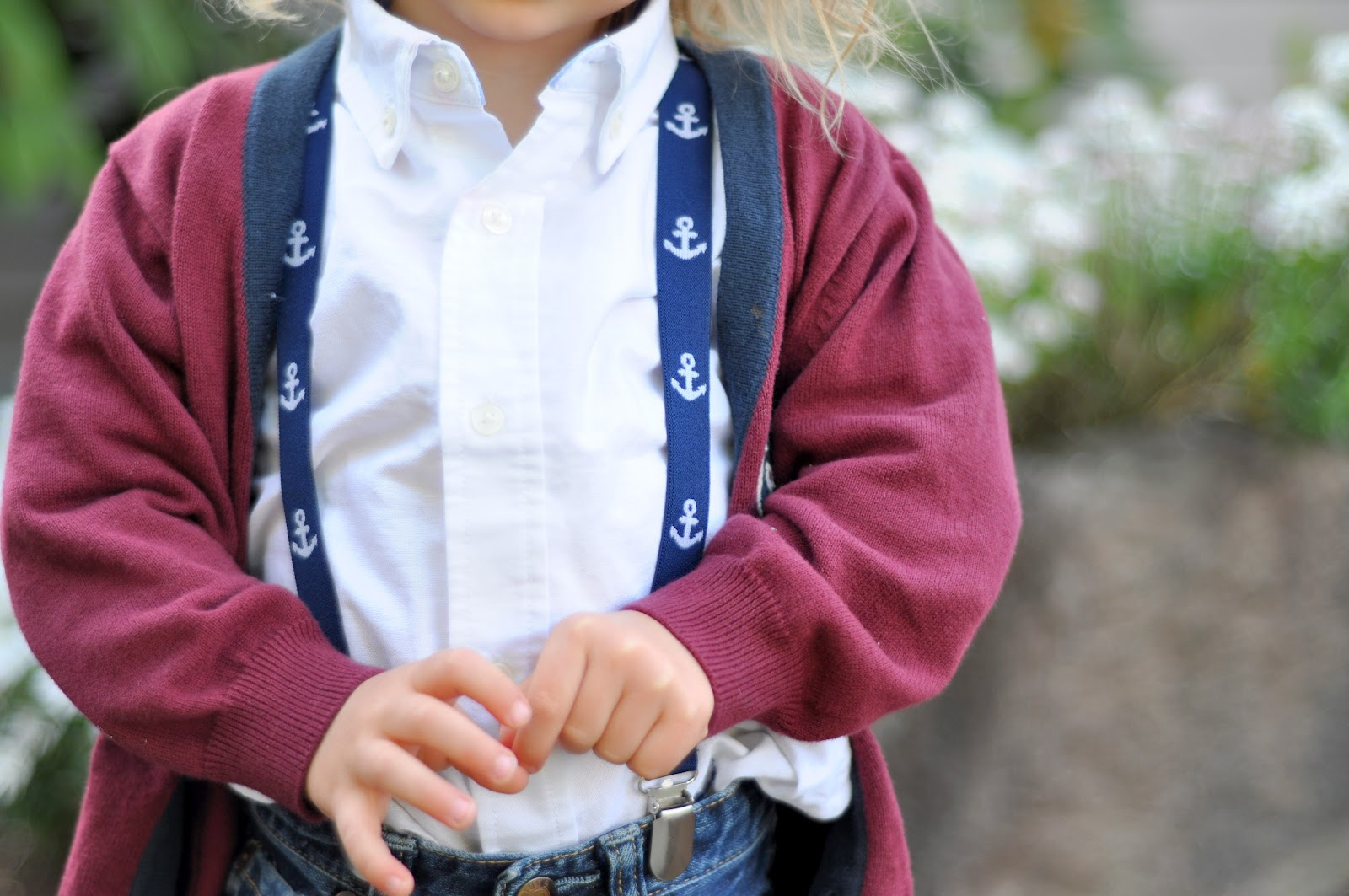 DIY Baby Suspenders