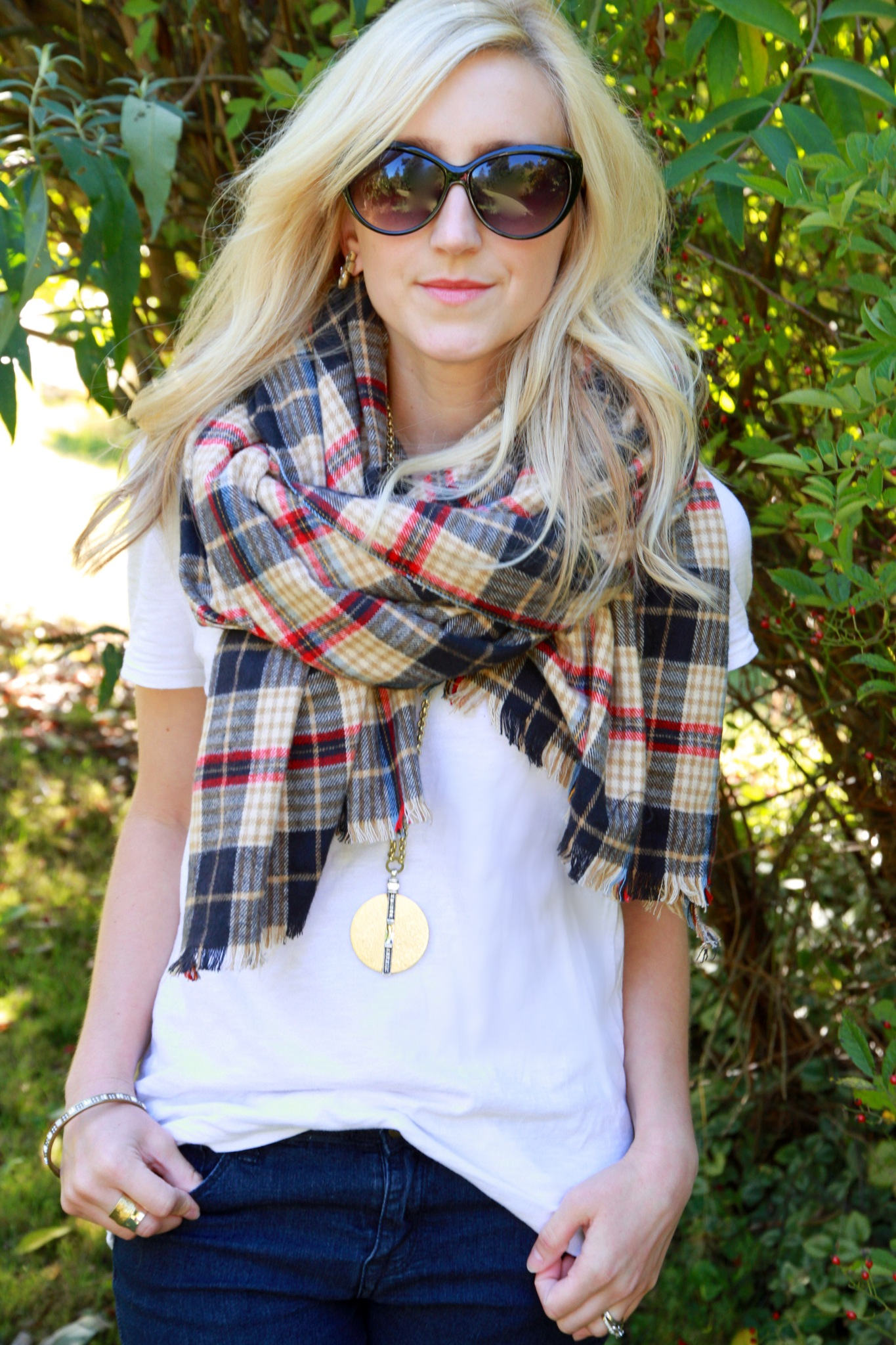 DIY Blanket Scarf