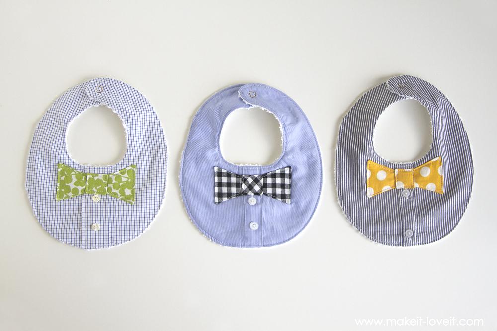 DIY Bow Tie Bib
