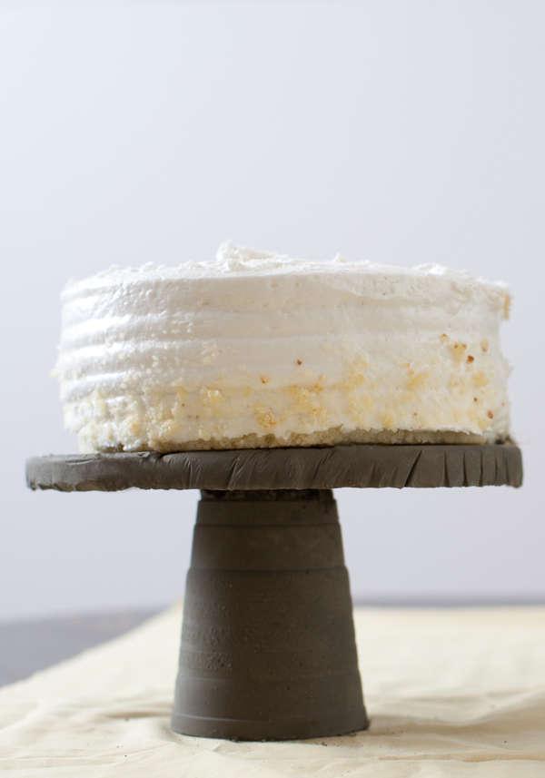 DIY Concrete Cake Stand