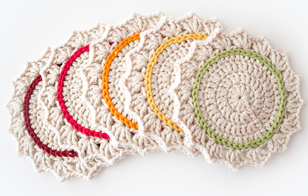 DIY Crochet Coasters