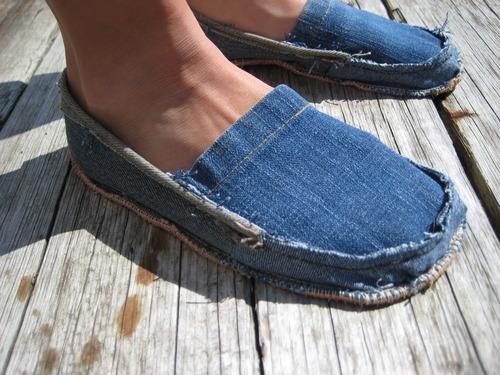 DIY Denim Shoes