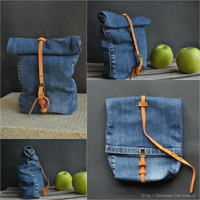 DIY Denim Snack Bag