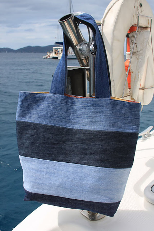DIY Denim Tote