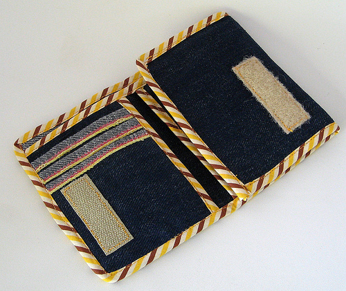 DIY Denim Wallet