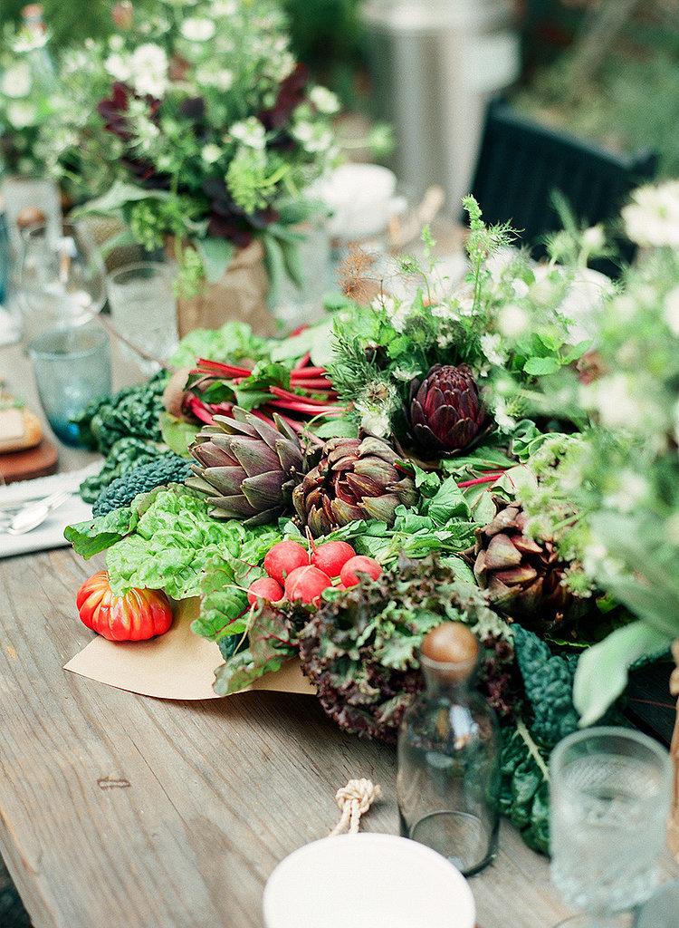DIY Fall Veggie Centerpiece