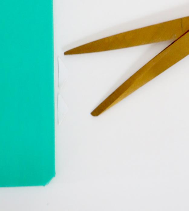 DIY Gold Hexagon Embellished Journal Cut