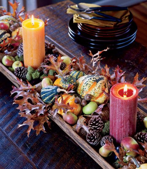 DIY Harvest Fall Centerpiece