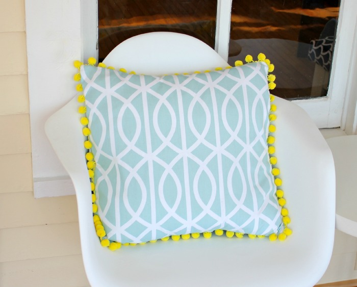 DIY Napkin Pillow