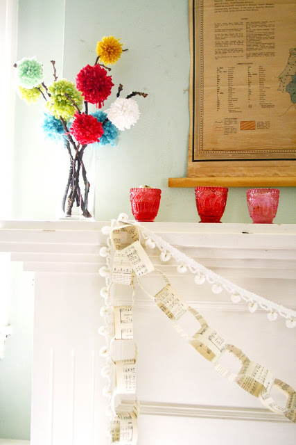 DIY Paper Chain Link Everyday Garland