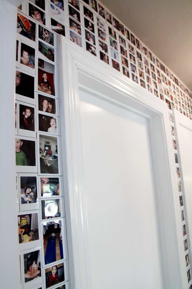32 photo collage diys for a more beautiful home diy photo collage instax wall solutioingenieria