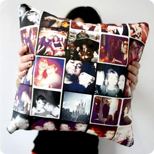 DIY Photo Collage PIllow