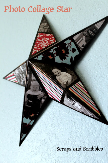 DIY Photo Star Collage
