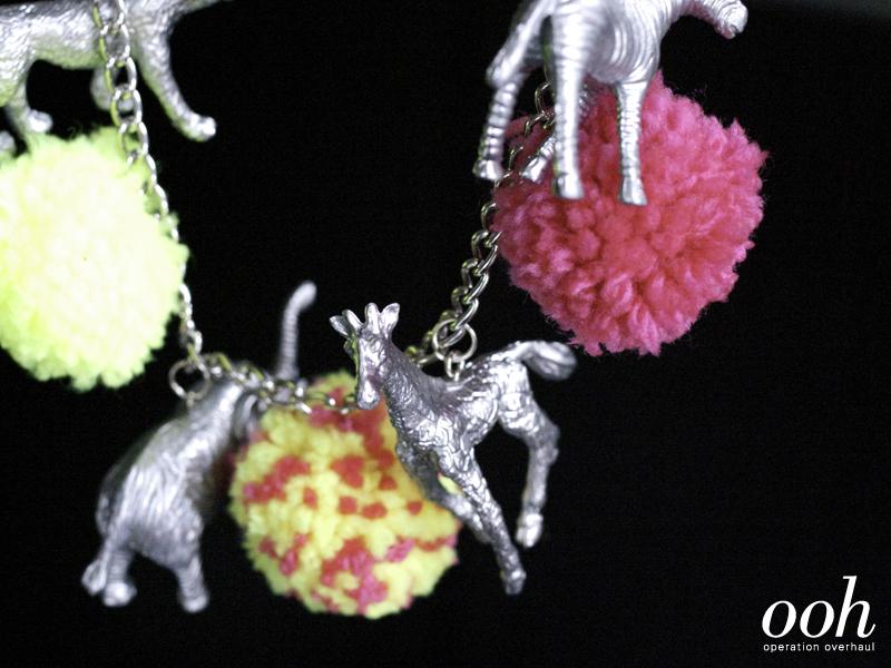 DIY Plastic Animal Necklace
