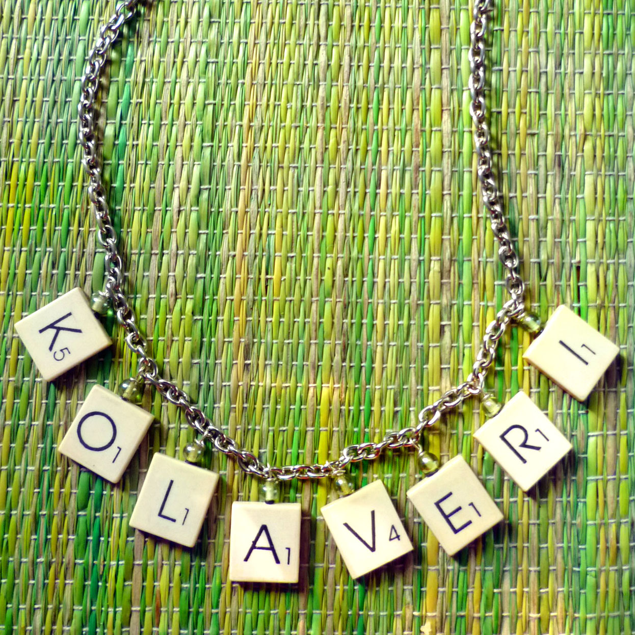DIY Scrabble Necklace