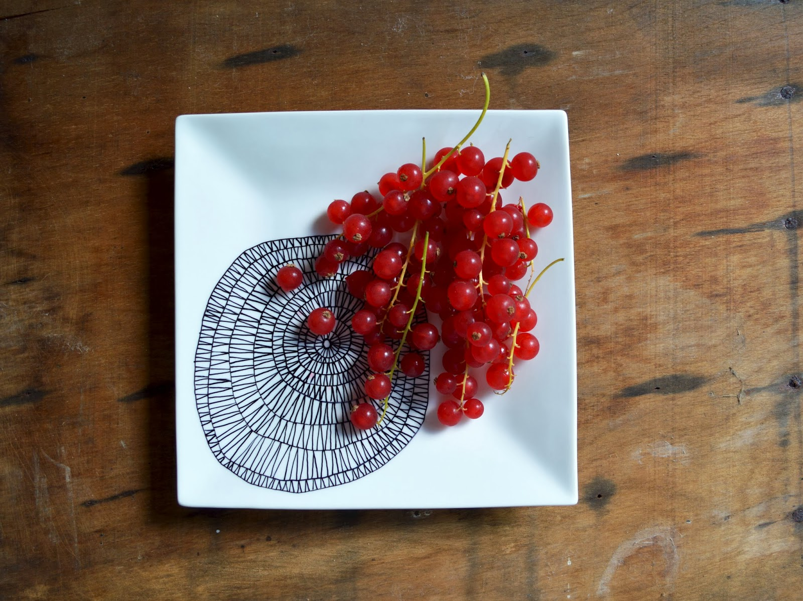 DIY Sharpie Plate Design