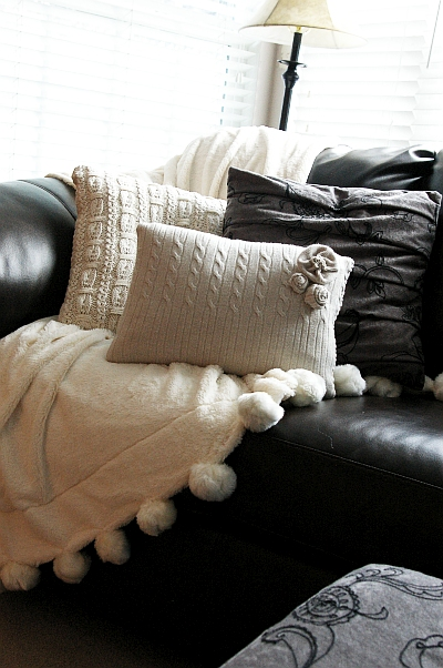 DIY Sweater Pillow DIY