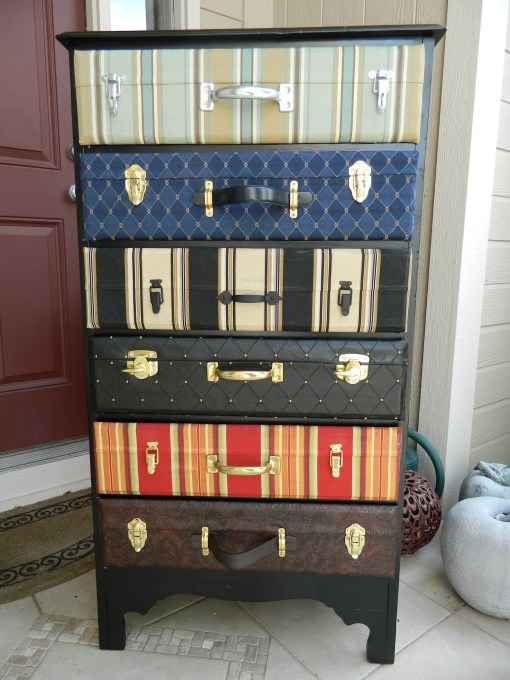 Creative Ways to Recycle and Reuse Vintage Suitcases