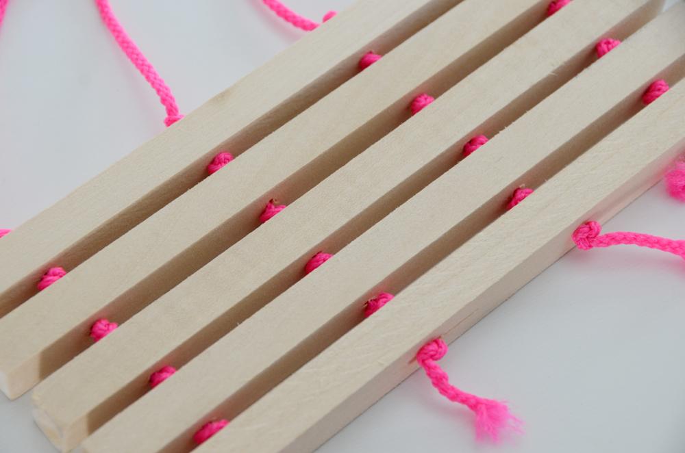 DIY Wooden Trivet Nine