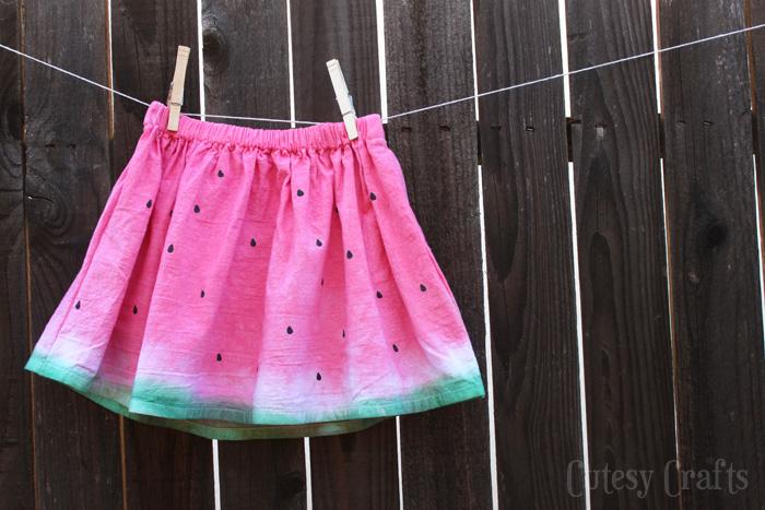 Dip-Dye Skirt