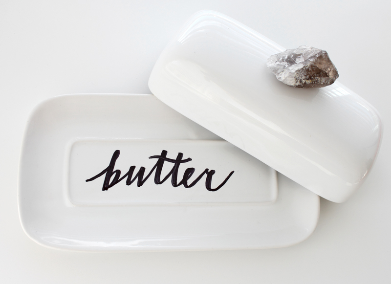 Diy Sharpie Butterdish