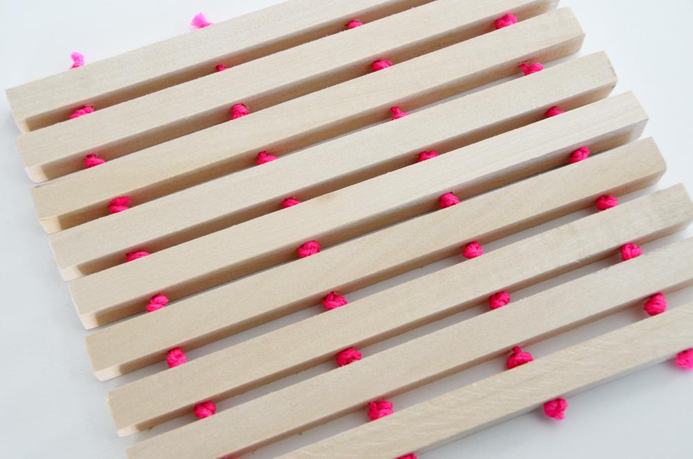 Easy DIY Wooden Trivet