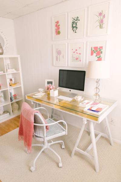 Gold-Desk-DIY