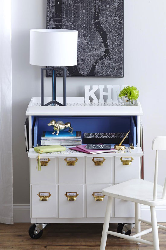 Dresser Converted To Desk