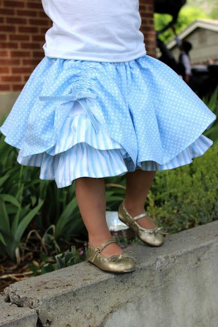 Pickup Blue Skirt