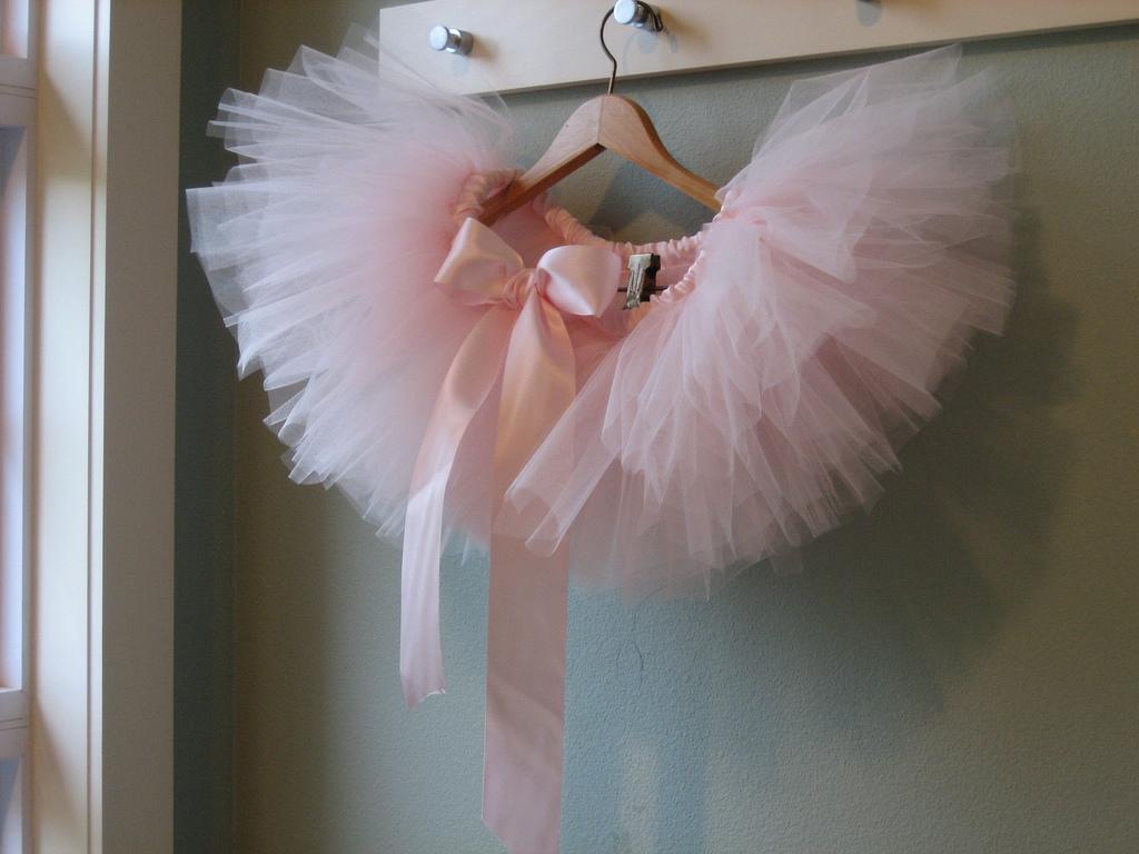 Pink Tule Skirt