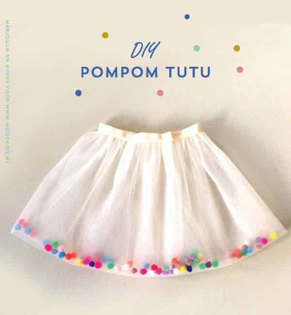 25 make it yourself childrens skirts tutus more pom pom tutu skirt solutioingenieria Images