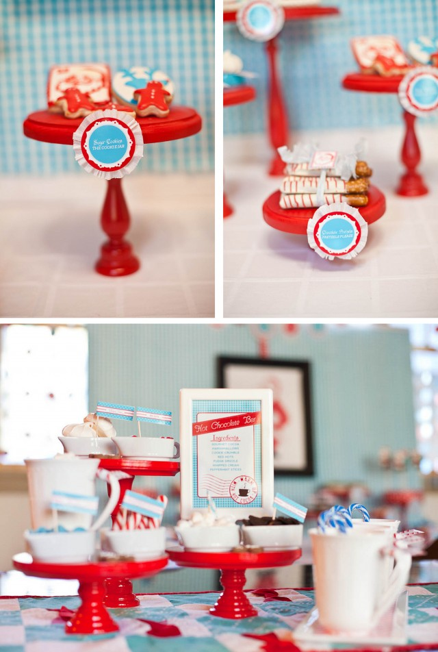 Red Wood Cake Stand & 50 Gorgeous Do-It-Yourself Cake Stands