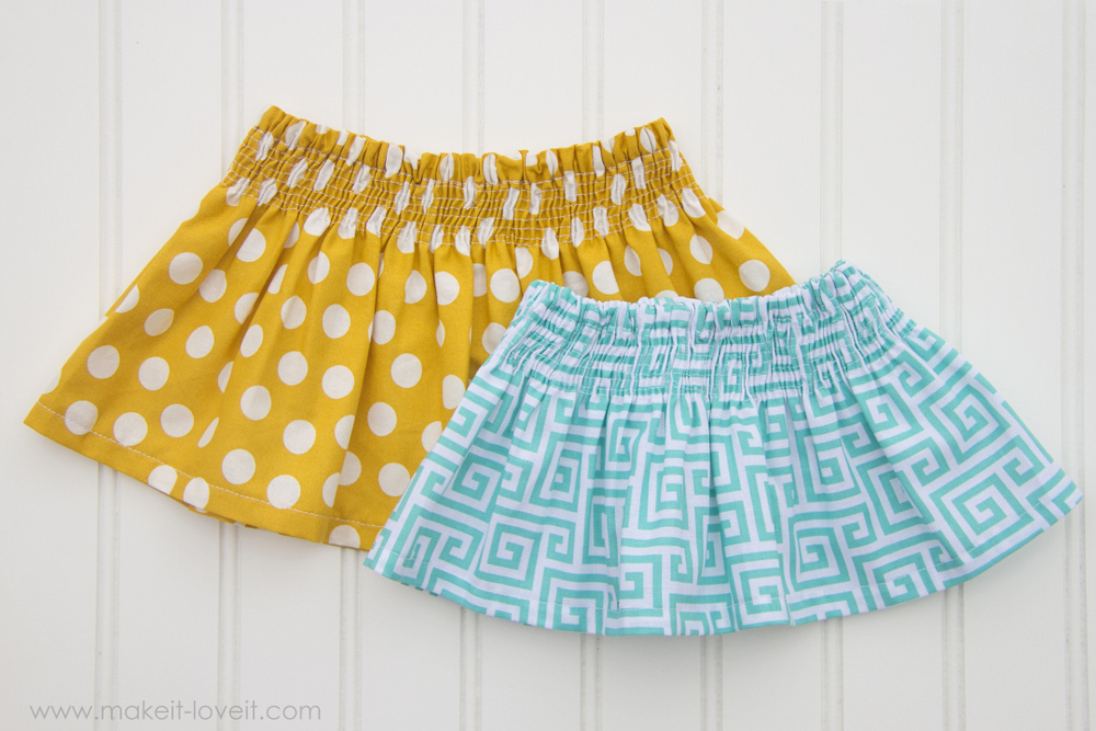 Shirred Skirt DIY