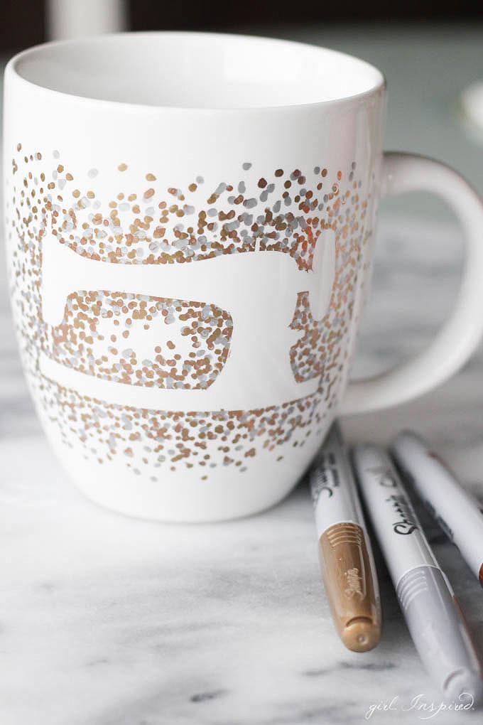 Silhouette DIY Sharpie Mug